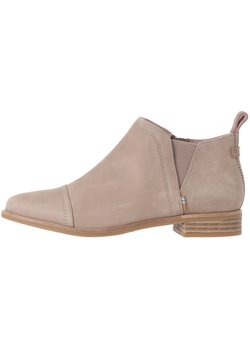TOMS - REESE - Ankle Boot - taupe grey smooth lthr