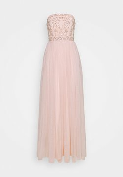 Maya Deluxe - BANDEAU EMBELLISHED MAXI DRESS - Robe de cocktail - pearl pink