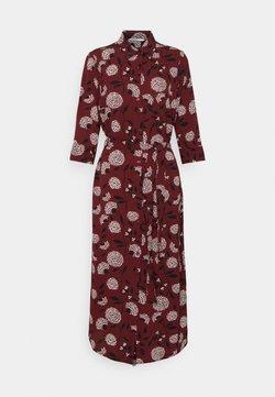 ONLY - ONLNOVA LUX  SHIRT DRESS - Skjortekjole - port royale