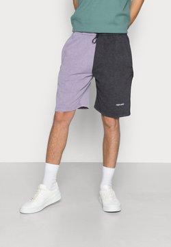 Night Addict - Shorts - vintage purple acid black
