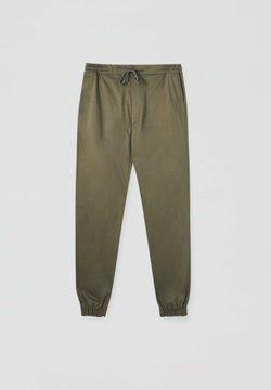 PULL&BEAR - Jogginghose - dark green