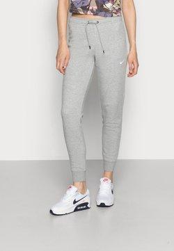Nike Sportswear - TIGHT - Jogginghose - dark grey heather/white