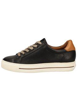 Paul Green - Sneaker low - schwarz/braun 007