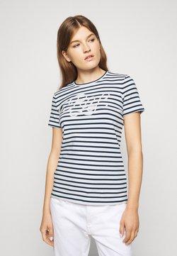 Lauren Ralph Lauren - REFINED  - T-shirt imprimé - white/lauren navy