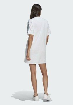 adidas Originals - TEE DRESS - Jerseykleid - white