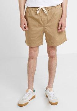 J.CREW - DOCK GARMENT DYE STRETCH - Shorts - british khaki