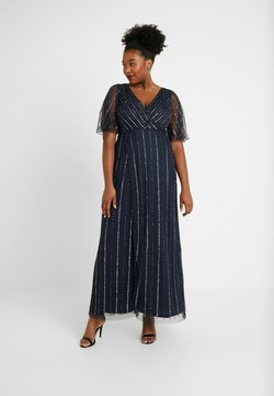 Lace & Beads Curvy - MARTNA - Occasion wear - navy