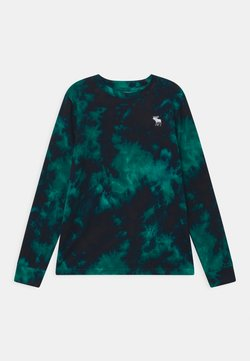 Abercrombie & Fitch - PRIMARY COZY CREW - Long sleeved top - green