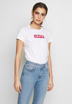 Levi's® - THE PERFECT TEE - T-shirt print - box tab white+