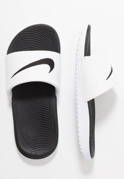Nike Performance - KAWA  - Badslippers - white/black