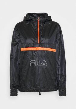 Fila - ALDINA  - Tuulitakki - black iris/orange clown fish