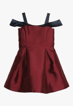 Friboo - Cocktailkleid/festliches Kleid - red plum/navy