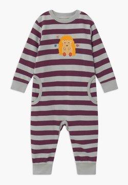 Sense Organics - STRINDBERG BABY ROMPER - Pyjama - purple/grey