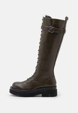 RAID - KINETIC - Platform boots - khaki