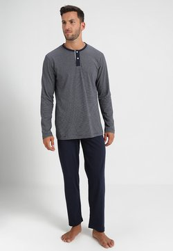 TOM TAILOR - PYJAMA - Pyjama - blue dark