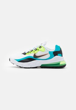 Nike Sportswear - AIR MAX 270 REACT - Sneakersy niskie - oracle aqua/black/ghost green/washed coral