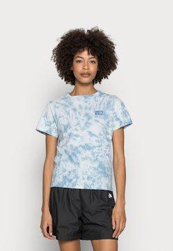 The North Face - NATURAL DYE TEE - T-Shirt print - tourmaline blue