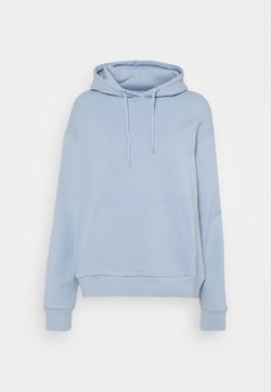 Even&Odd - BASIC - Oversized hoodie with pocket - Hoodie - blue