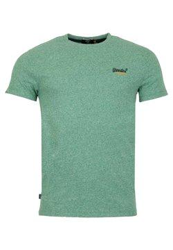 Superdry - VINTAGE - T-shirt print - grain vert brillant