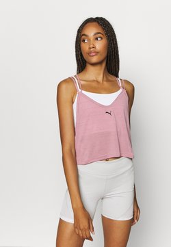 Puma - STUDIO STRAPPY TANK - Camiseta de deporte - foxglove heather