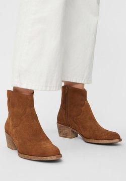 Bianco - BIADAVALYN - Ankle Boot - cognac