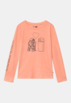 GAP - GIRL STAR WARS  - Langarmshirt - energetic peach