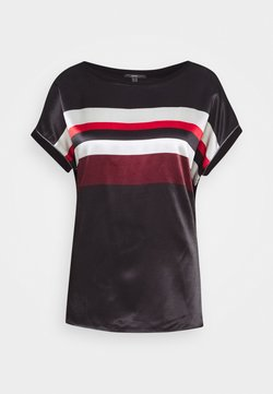Esprit Collection - BLOCK TEE - Camiseta estampada - red