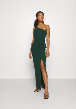 WAL G. - ONE SHOULDER DRESS - Occasion wear - forest green