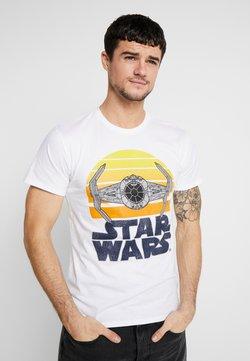 Mister Tee - STAR WARS SUNSET TEE - T-Shirt print - white