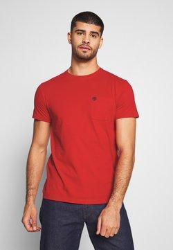 Timberland - DUNSTAN RIVER POCKET SLIM TEE - T-shirt basic - barbados cherry
