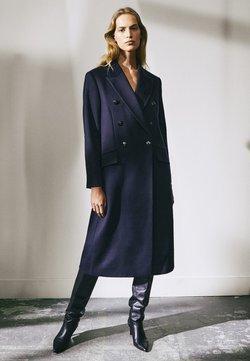 Massimo Dutti - MIT KNÖPFEN LIMITED EDITION - Manteau classique - dark blue
