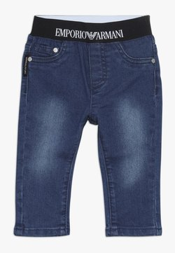 Emporio Armani - POCKET PANT - Jeansy Relaxed Fit - blu navy
