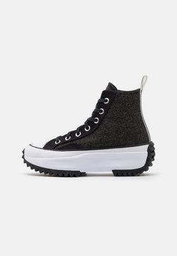Converse - RUN STAR HIKE - Baskets montantes - black/silver/white