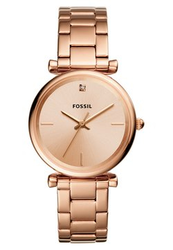 Fossil - CARLIE - Montre - roségold-coloured