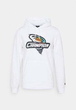 Champion - HOODED  - Felpa - white