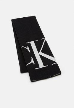 Calvin Klein Jeans - SCARF MONOGRAM - Szal - black
