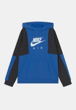 Nike Sportswear - AIR - Sweatshirt - signal blue/dark obsidian/white