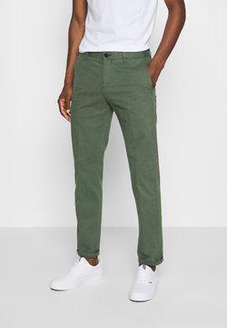 Tommy Hilfiger Tailored - FLEX SLIM FIT PANT - Broek - green