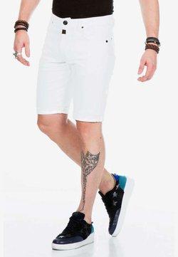 Cipo & Baxx - Jeansshort - white