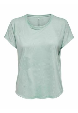 ONLY Play - T-shirt con stampa - gray mist