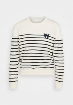 Wood Wood - ANNELI LAMBSWOOL JUMPER - Strickpullover - off white