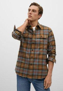 Mango - CALI - Camisa - middenbruin
