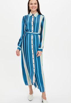 DeFacto - Vestido camisero - marine
