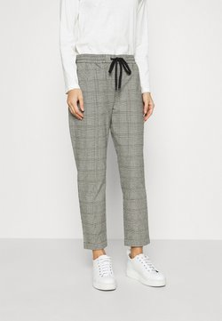 Marc O'Polo DENIM - CHECK JOGG PANTS - Jogginghose - multi/black