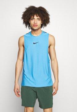 Nike Performance - TANK  - Top - coast/black