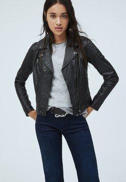 Pepe Jeans - ALBA - Leren jas - black