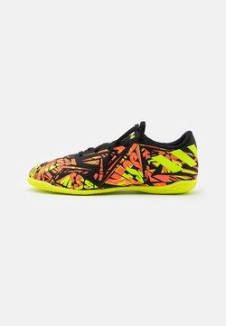 adidas Performance - NEMEZIZ MESSI .4 IN UNISEX - Indoor football boots - solar red/solar yellow/core black