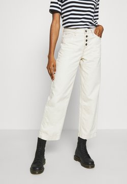 Lee - WIDE LEG - Jeans baggy - white denim