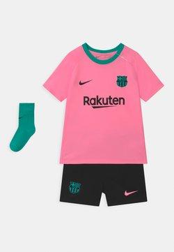 Nike Performance - FC BARCELONA SET UNISEX - Equipación de clubes - pink beam/black