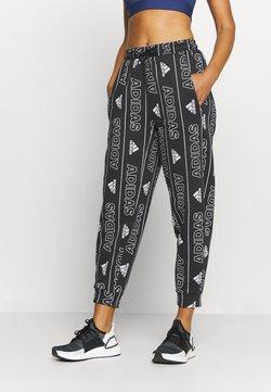 adidas Performance - BOS PANT - Pantalones deportivos - black/white